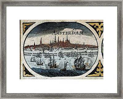 Blaeu, Willem Janszoon 1571-1638 Blaeu Framed Print by Everett