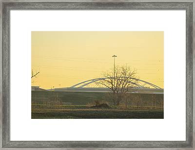 Bridges Framed Print by Tinjoe Mbugus