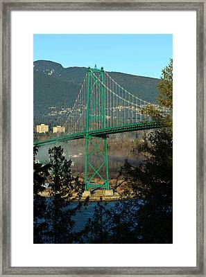 Canada, British Columbia, Vancouver Framed Print by Rick A Brown
