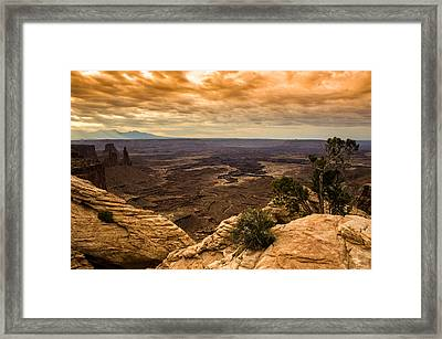 Canyonlands National Park Utah Framed Print