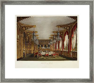 Carlton House Framed Print