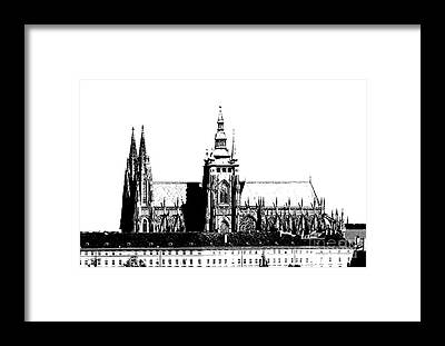 Cityspace Framed Prints