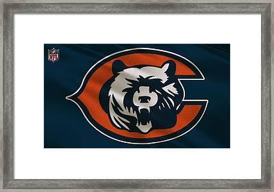 Chicago Bears Uniform Framed Print