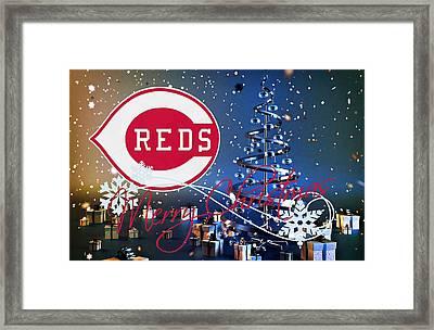 Cincinnati Reds Framed Print