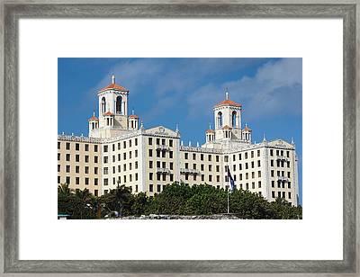 Cuba, Havana, Vedado, Hotel Nacional Framed Print