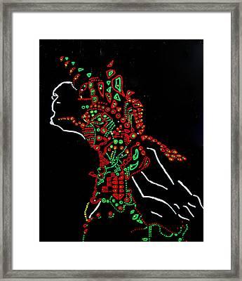 Dinka Groom - South Sudan Framed Print by Gloria Ssali