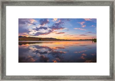 8 Dollar Sunset Framed Print by Darren  White