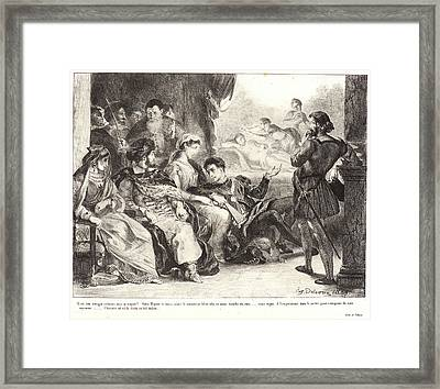 Eugène Delacroix French Framed Print