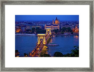 Europe, Hungary, Budapest Framed Print by Jaynes Gallery