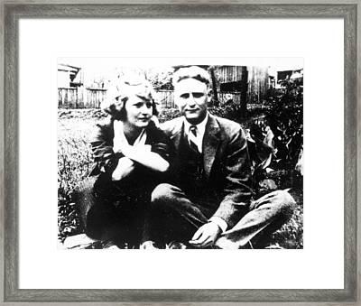 F Framed Print by Granger