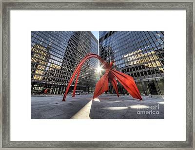 Federal Plaza  Framed Print by Twenty Two North Photography