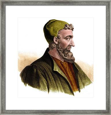 Galen Framed Print by Science Source