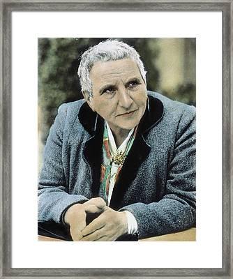 Gertrude Stein (1874-1946) Framed Print