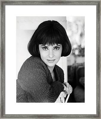 Gina Lollobrigida Framed Print