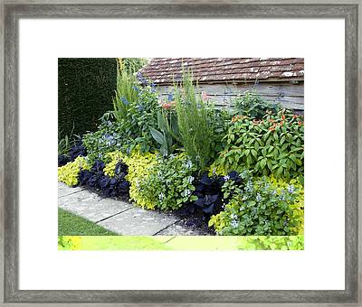 Great Dixter Gardens, Uk Framed Print by Science Photo Library
