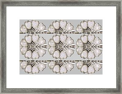 Imitation Jewellery Graphic Design Decorative Patterns Navinjoshi Rights Managed Images Graphic Desi Framed Print