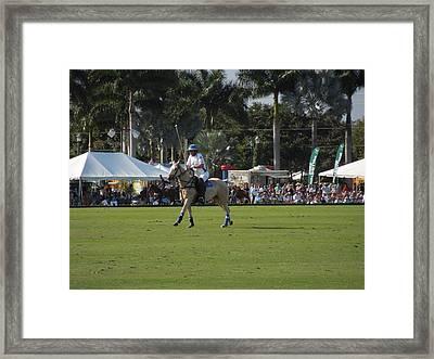 International Polo Club Framed Print
