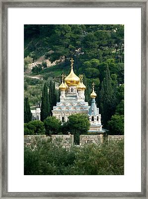 Israel, Jerusalem Framed Print