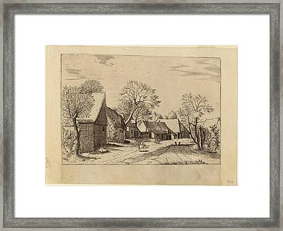 Johannes And Lucas Van Doetechum After Master Of The Small Framed Print by Quint Lox