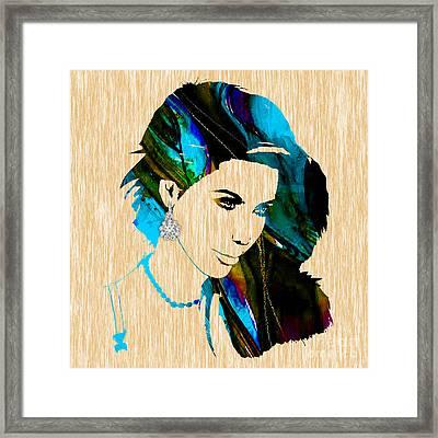 Kim Kardashian Collection Framed Print by Marvin Blaine