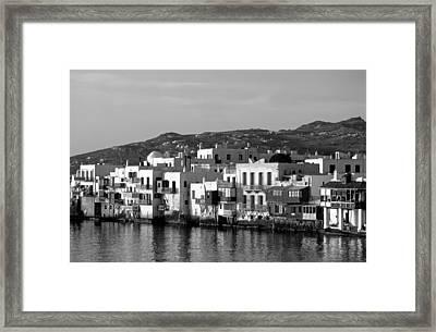 Little Venice During Sunset Framed Print