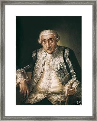 Lopez Y Porta�a, Vicente 1772-1850 Framed Print