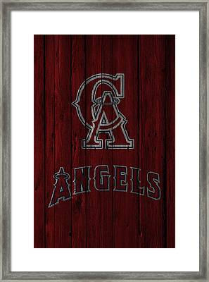 Los Angeles Angels Framed Print by Joe Hamilton