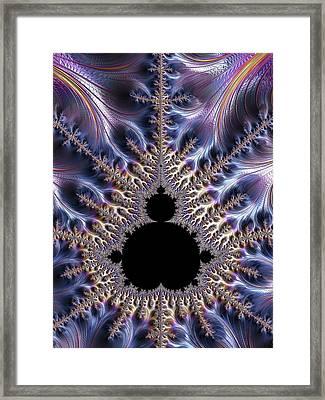 Mandelbrot Fractal Framed Print