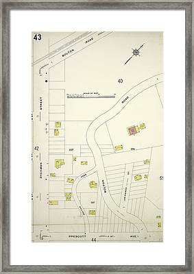 Manhattan, V. 12 Framed Print by Litz Collection