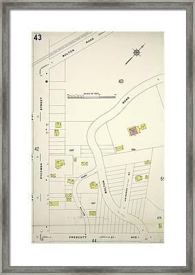 Manhattan, V. 12 Framed Print