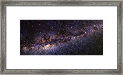 Milky Way Over The Atacama Desert Framed Print
