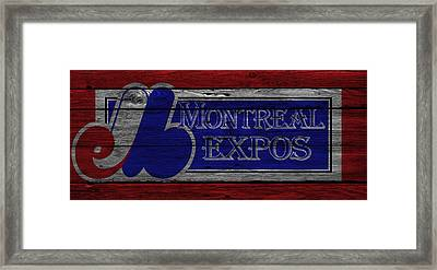 Montreal Expos Framed Print