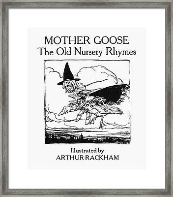 Mother Goose, 1913 Framed Print