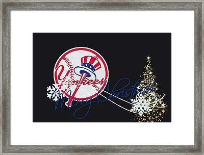 New York Yankees Framed Print by Joe Hamilton