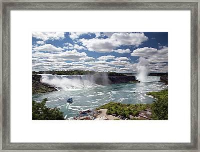 Niagara Falls Framed Print by Jim West