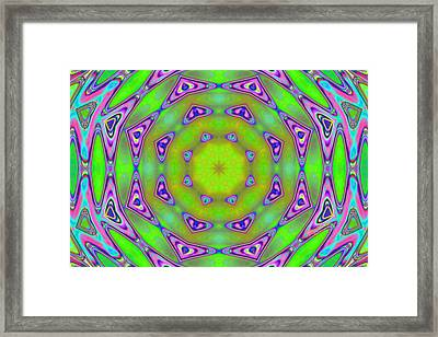 Pattern 21 Framed Print