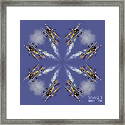 8 Planes Framed Print by Jerry Fornarotto