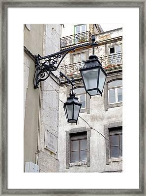 Portugal, Lisbon Framed Print by Emily Wilson