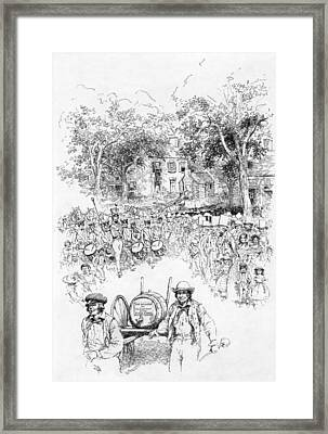 Presidential Campaign, 1840 Framed Print
