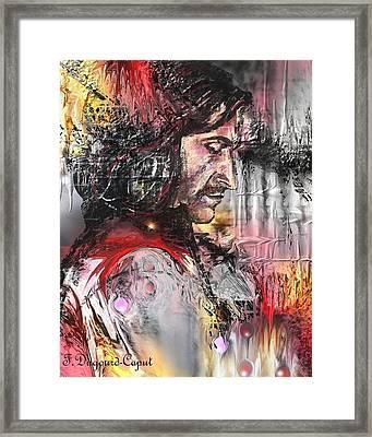 Richard Armitage Framed Print by Francoise Dugourd-Caput