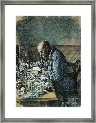 Robert Koch (1843-1910) Framed Print