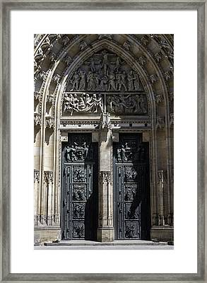 Saint Vitus Cathedral. Framed Print