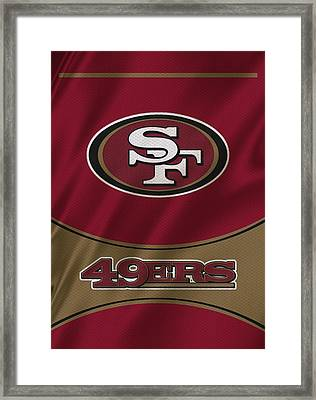 San Francisco 49ers Uniform Framed Print