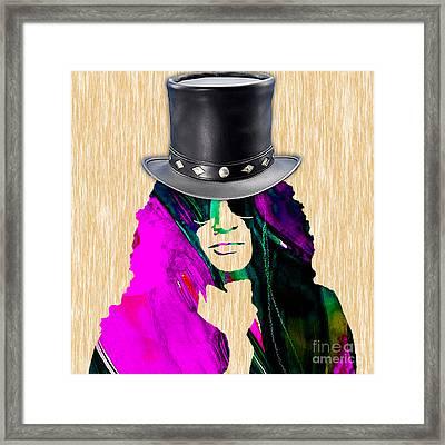 Slash Collection Framed Print