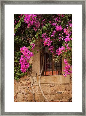 Spain, Extremadura Region, Caceres Framed Print