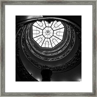 The Vatican Stairs Framed Print