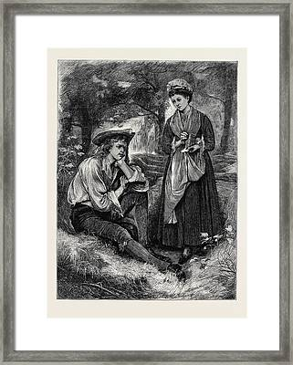 The Wandering Heir Framed Print