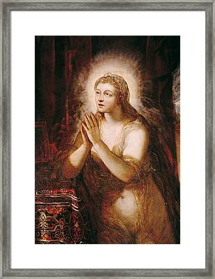 Tintoretto, Jacopo Robusti, Called Il Framed Print