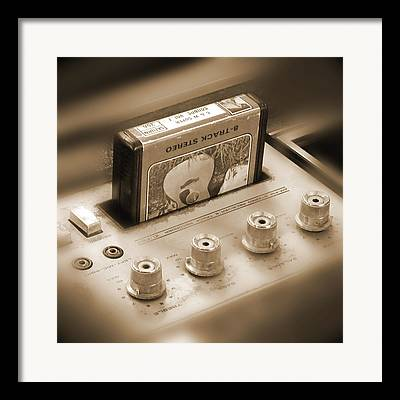 Classic Audio Player Framed Prints