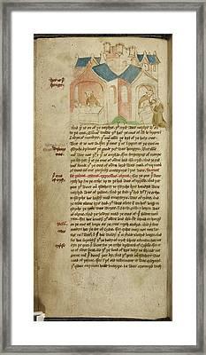 Travels Of Sir John De Mandeville Framed Print